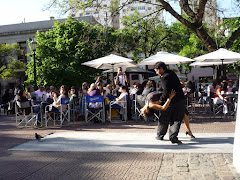 Tango Dancing in the Plaza Dorrego