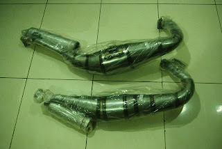 : * (New) Knalpot CMS Galvanis & Stainless For Yamaha RX-King