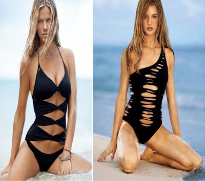 Bañadores con cortes, Victoria's Secret, Primavera-verano 2010