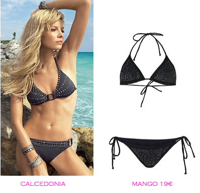 Comparativa precios bikinis para delgadas: Calcedonia vs Mango 19€