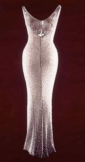 Vestido Marilyn, cumpleaños de Kennedy, subastado en Christie's