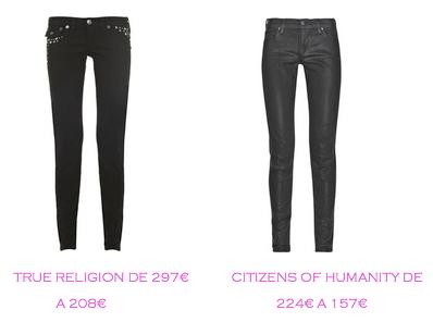 Tienda online: Net-a-porter: Vaquero pitillo: True Religion 297€ vs Citizens of Humanity 157€