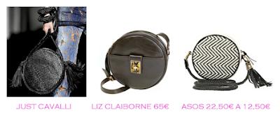 Parecidos Razonables: Bolsos redondos: Just Cavalli vs Liz Claiborne 65€ vs Asos 12,50€