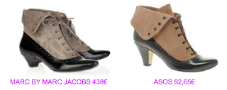 Botines estilo british 2 Marc Jacobs vs Asos