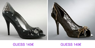 Peep toes Guess 2010/2011