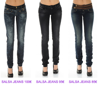 Jeans Push Up Salsa Jeans 2 2010/2011