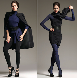 Looks azul y negro Wolford 2 2010/2011