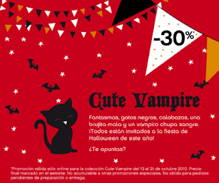 Campaña Cute Vampire Woman'Secret 2010