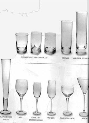 Prepara cocteles bebidas y piqueos para tu fiesta for Cristaleria para bar