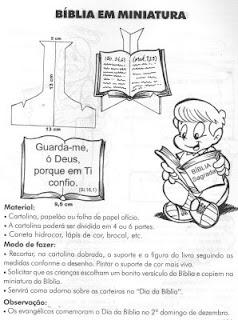 FAZER+BIBLIA Bíblicos para crianças