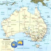 O Ano Novo não começou bem na Austrália. Dias de chuva torrencial atingiram . (australia mapa)