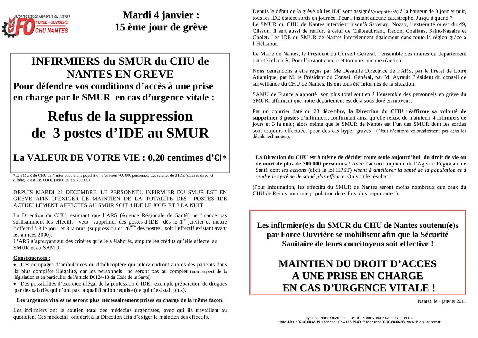 Rapport de stage infirmier liberale - Cabinet infirmier nantes ...