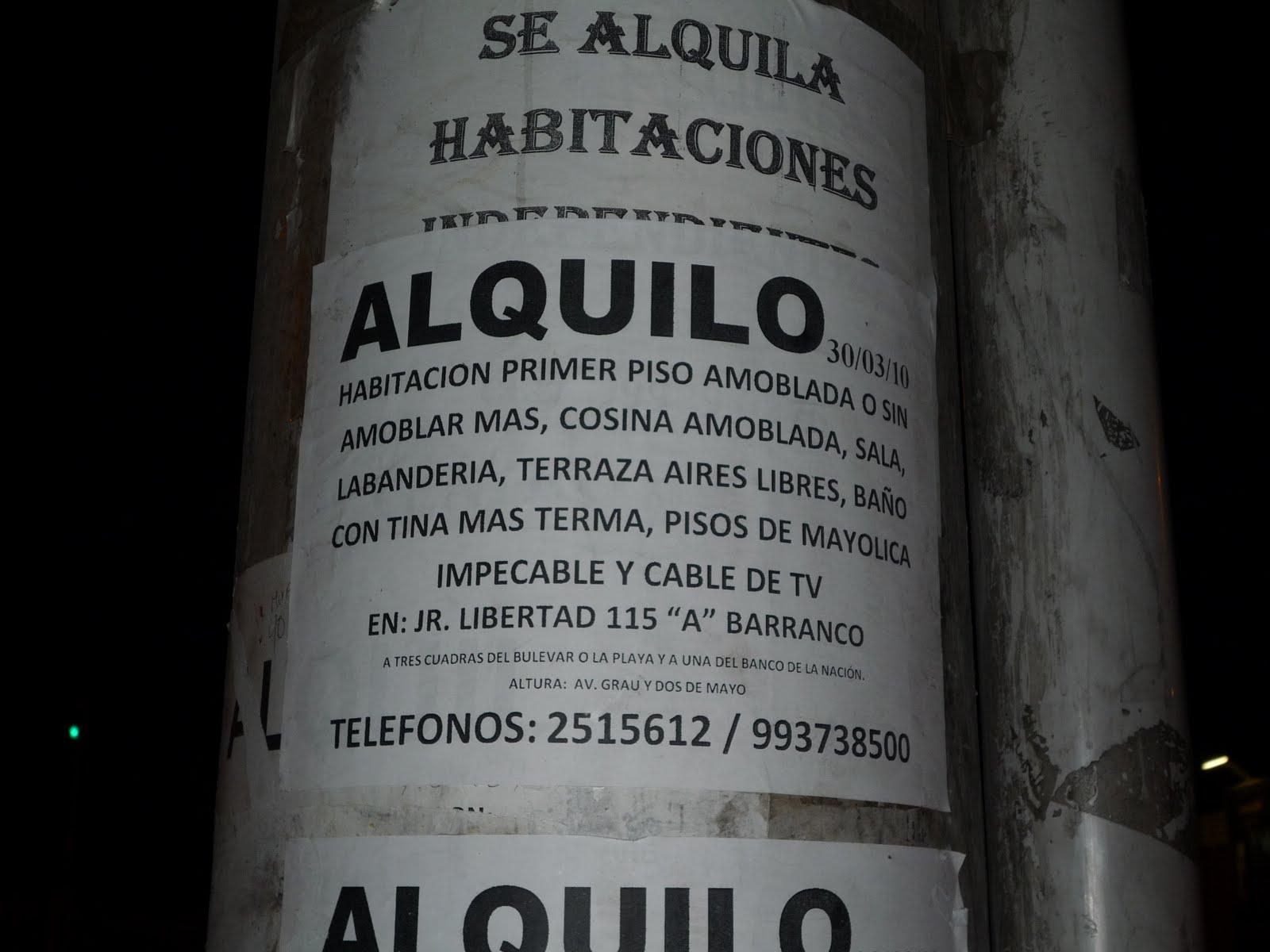 Delaurbesublog aviso barranquino para alquilar habitaci n - Alquiler de habitacion en valladolid ...