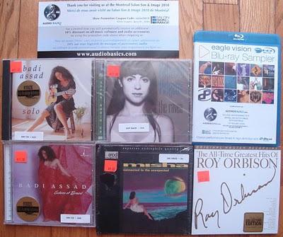 AudioBasics SSI 2010 CDs