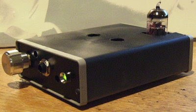 Vacuum Tube / Mosfet Hybrid Headphone Amp
