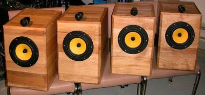 DIY Swans Tempus Bookshelf Speakers