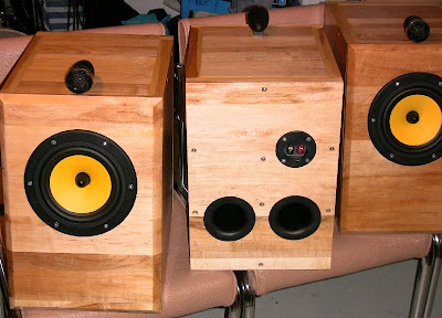 DIY HiVi Research Swans Tempus Bookshelf Speakers