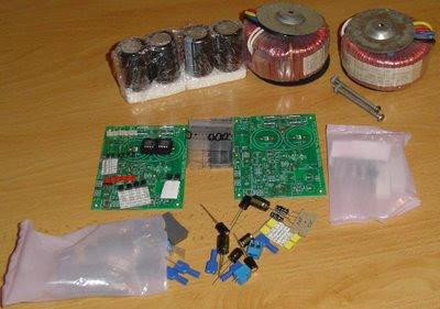 MyRefC LM3886 chipamp kit