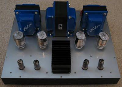 6JN6 / 6JM6 / 6GV5 Compactron Push Pull Tube Amp