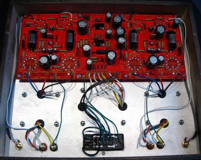 Compactron Push-Pull Hi-Fi Vacuum Tube Amplifier