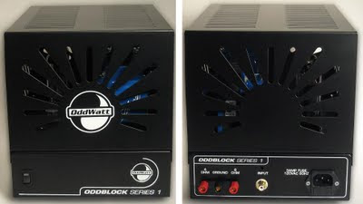 OddBlock KT77 Tube Amp Cover