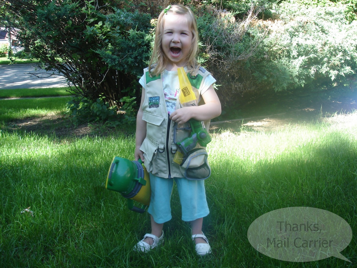 thanks mail carrier backyard safari outfitters review outdoor