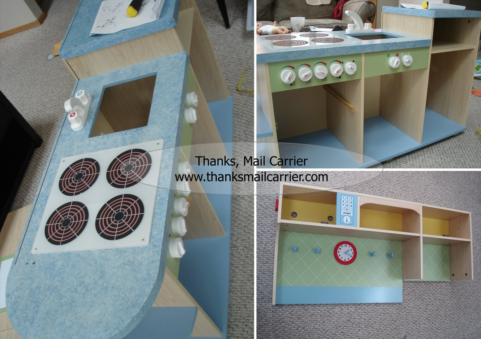 Thanks, Mail Carrier | Guidecraft All In One Play Kitchen {Review ...