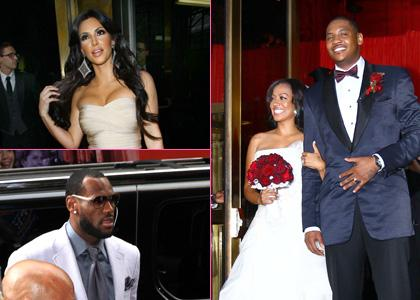 La Vazquez And Carmelo Anthony Wedding Day Bliss