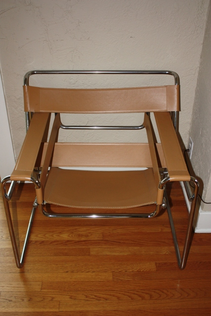 1.12.11: Wassily Style Chair