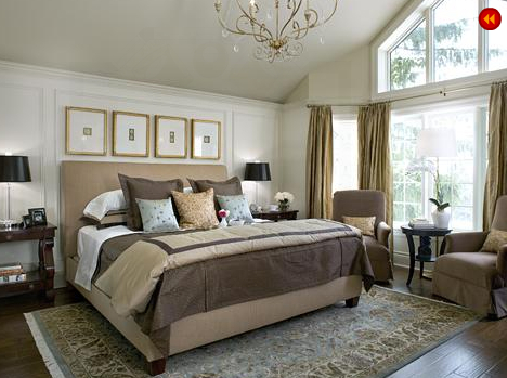 Master bedrooms that reek of glamorous design in modern styles and