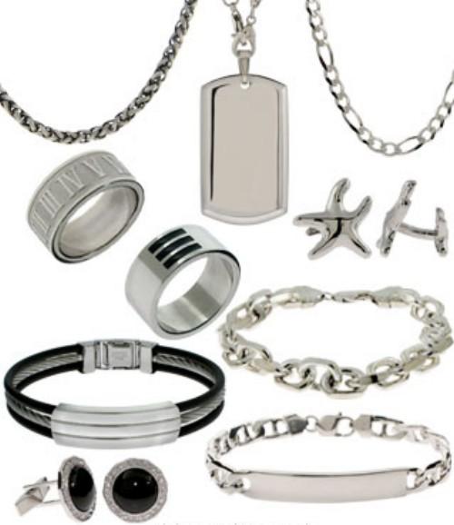 B b fashion house men 39 s jewelry for Men s jewelry earrings