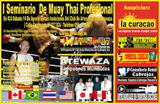 I Seminario de Muay Thai Profesional