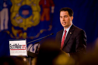 Wisconsin gubernatorial candidate Scott K. Walker