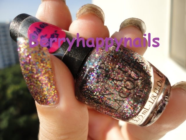 happyberrynaiad: OPI Sparkle-icious vs OPI Mad as a Hatter