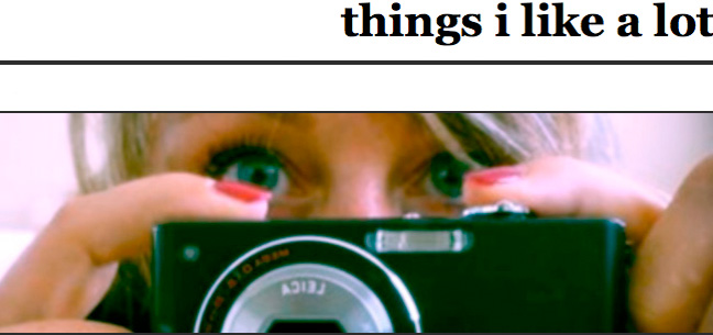 Things I Like A Lot