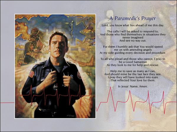 Paramedic Prayer
