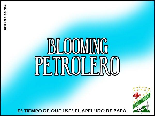 blooming petrolero