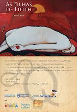 """Lançamento do livro """"As Filhas de Lilith"""", de Cida Pedrosa"""