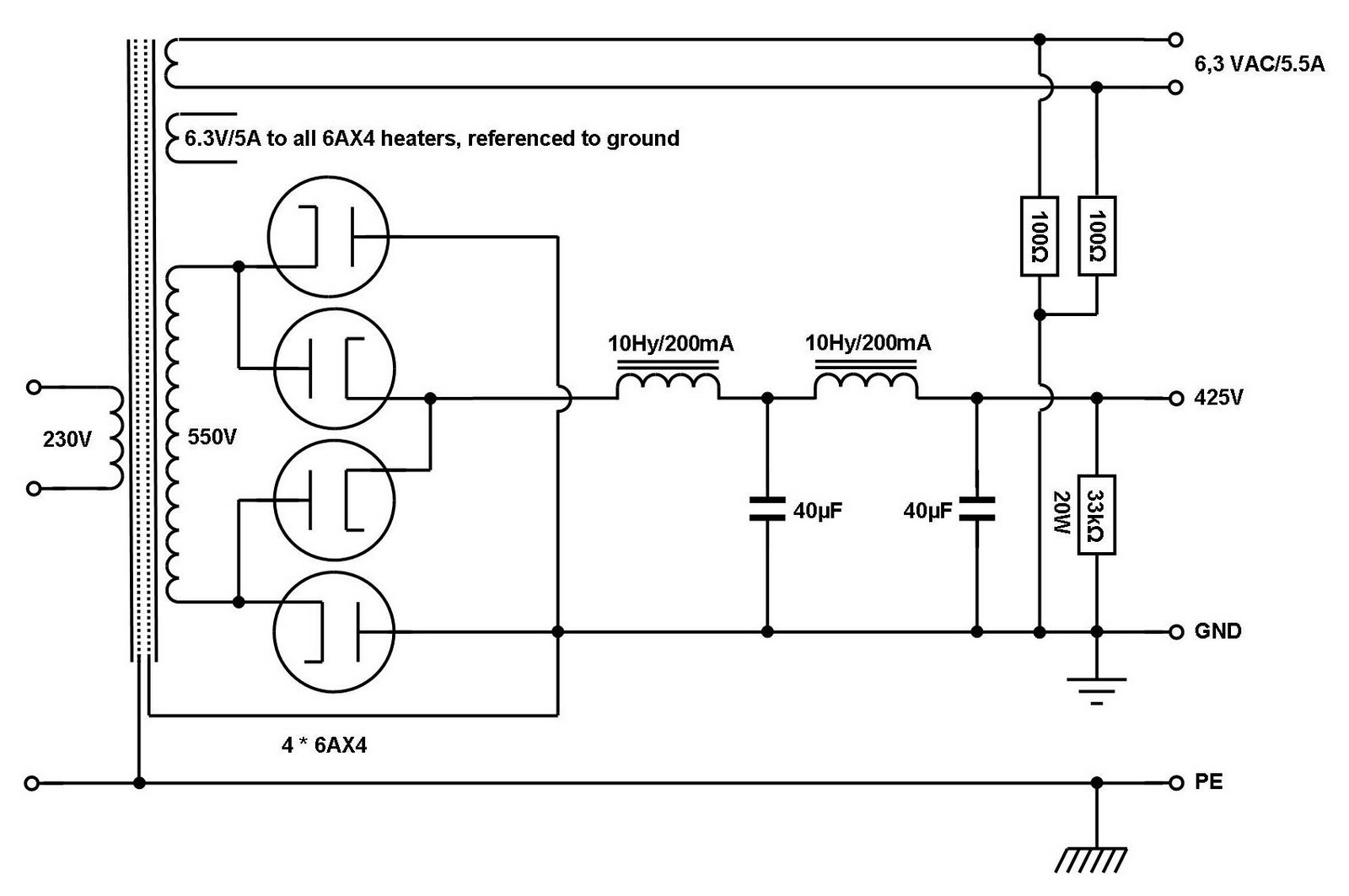 Vinylsavor February 2011 Full Wave Rectifier Connection Diagram Friday 11