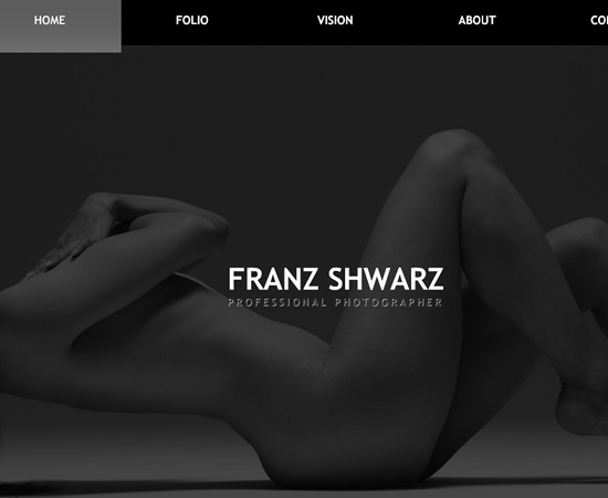 This is not adult content - Just a great website template for photographers ...