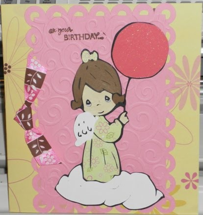 Kreations By Kim Precious Moments Birthday Card