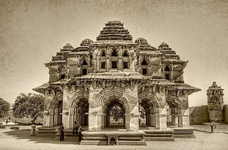 Lotus Mahal in Hampi.