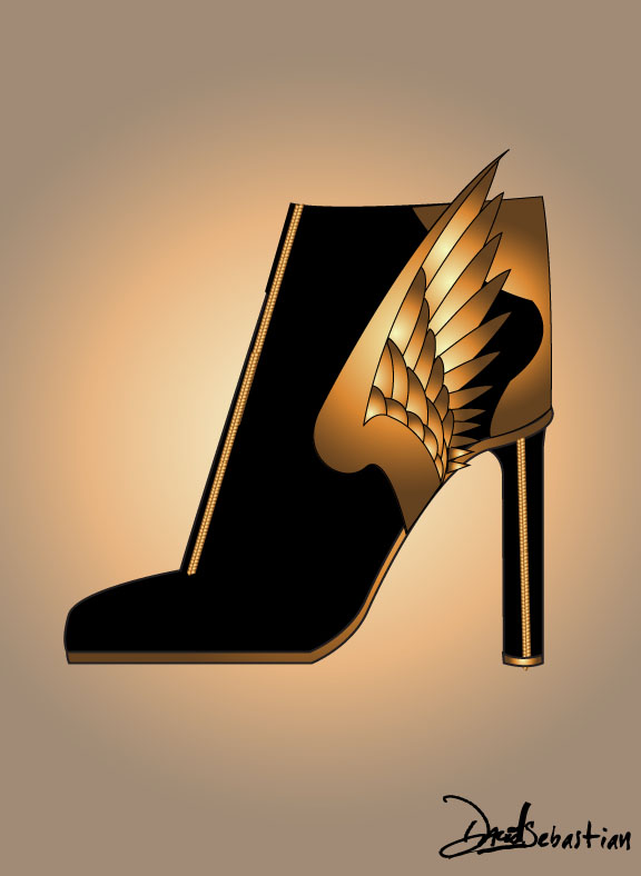 HEELS THAT FLY