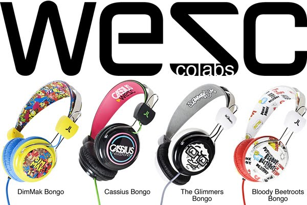 MY WESC HEADPHONES I DESIGNED THAT SOLD OUT