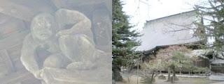 夜鳴力士像と専称寺