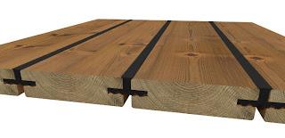 Isolera träbjälklag uterum