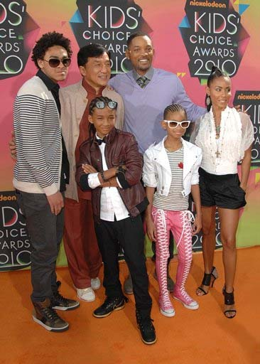 images of will smith and family. will smith family pictures