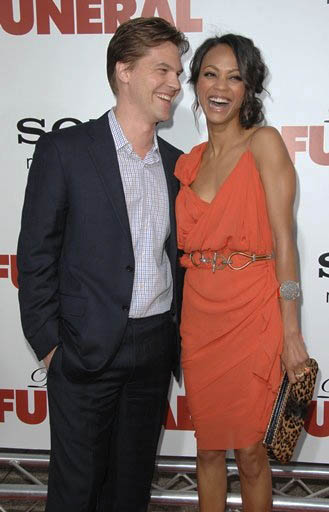 zoe saldana and keith britton. Keith Britton With Zoe Saldana