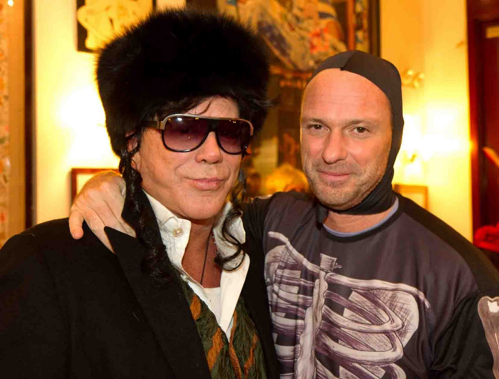 mickey rourke and giuseppe cipriani