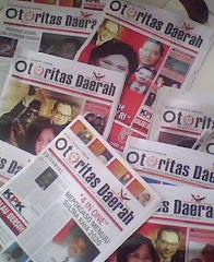 koran otoritas daerah